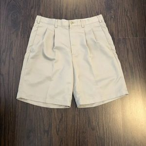Grand Slam Golf 34 Beige Shorts Active Wear